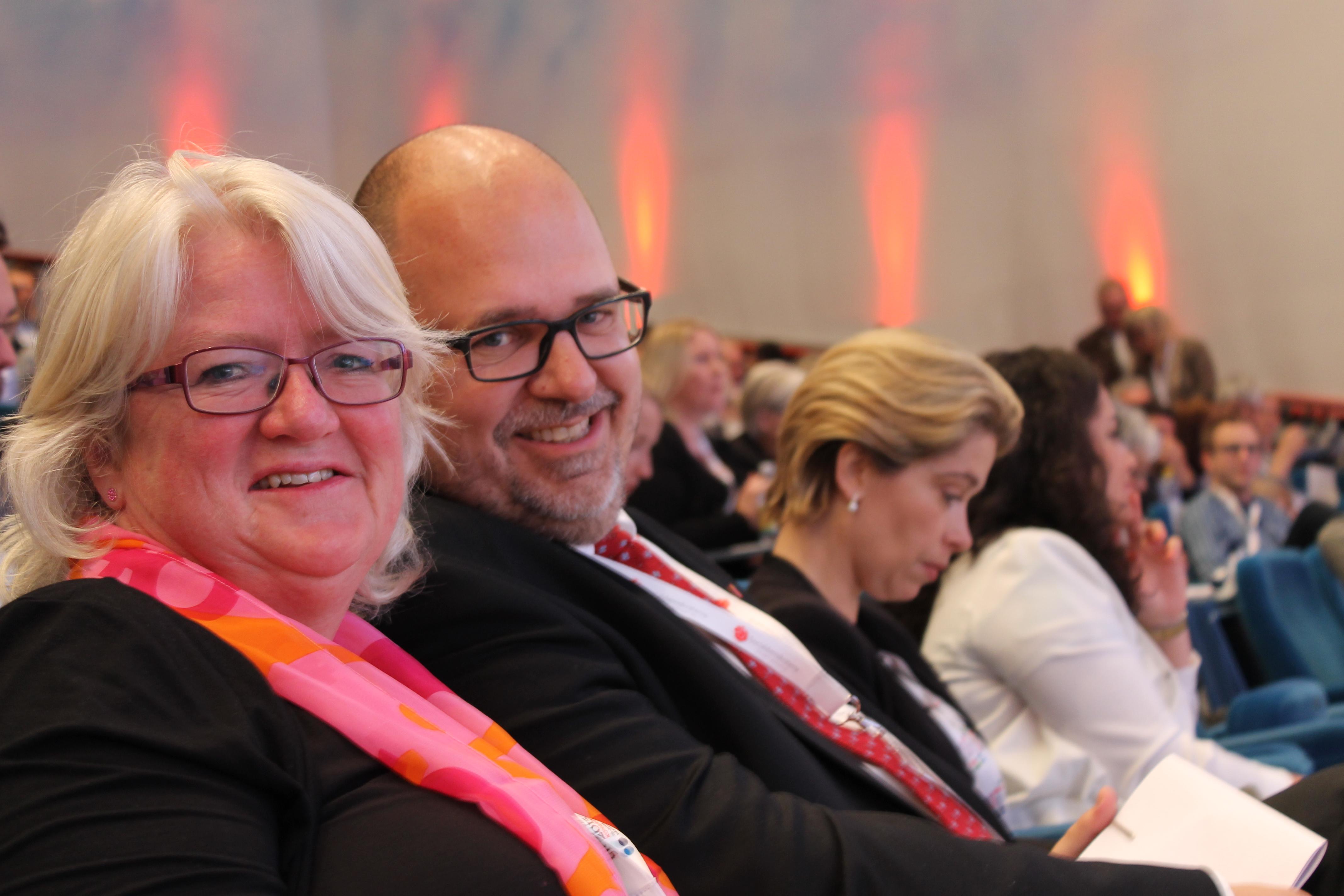 Carina Ohlsson och Karl-Petter Thorwaldsson