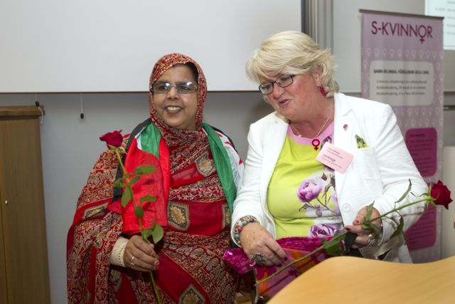 Moumna Sid Brahim, rektor Olof Palmes skola i Västsahara